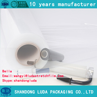 Transparent LLDPE Pallet Wrap Stretch Plastic Shrink Film