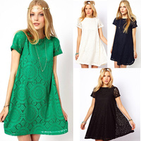 2015 women's casual short sleeve fashion summer European ladies casual dress SV000069