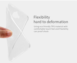 2015 high quality transparent TPU case silicon phone case for Huawei Enjoy 5