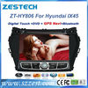 ZESTECH 2 din touch screen gps navigation for HYUNDAI IX45 SANTA FE 2013 sat nav head unit