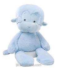 customized design plush blue monkey toy