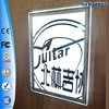 Wall mounting crystal advertising a1 acrylic led panel board