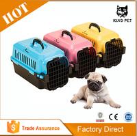 Plastic Dog Flight Transport Boxes