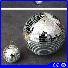 christmas crafts foam ball with glass lens window decoration christmas pendant