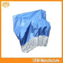 double colour 190t 420d or 190t outdoor ployster waterproof motorcycl,motorcycle cover (silver-coated) at factory price