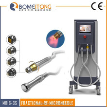 Cryo cooler microneedle rf therapy face lift