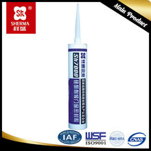 Neutral cure window door and internal building decoration silicone sealant