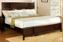 madera de teca de cama king size