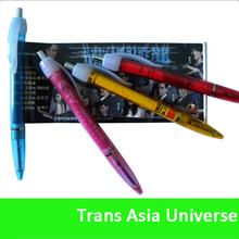 High Quality oem logo printing flyer pen
