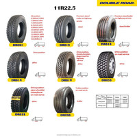 2015 best chinese brand DOUBLE ROAD 11r22 5 truck tire