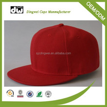 Promotional soft 100% cotton fabric baby hat snapback cap