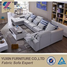 Newly american living style sectional sofa furniture,big american style fabric sofa