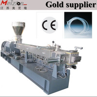 two screw extruder PE/ABS/PVC cable and wire material granulating line /pvc granules for cables and wires