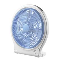 """Electric plastic AC DC 10"""" rechargeable table fan desk fan"""
