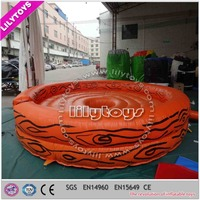 Popular interactive sports game inflatable outdoor sports game for adults
