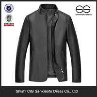 Man Smooth Face Leather Jacket Wholesale Gothic Clothing Lots for Sale