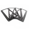 Cheap Price 3K Carbon Fiber Car Number Plate Frames For Sale