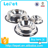Manufacturer wholesale Eco-friendly pet feeder dog bowl stainless steel pet bowl