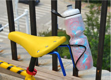 New dual bicycle bike bottle cage mount on saddle