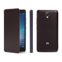 Original Xiaomi Redmi Note 2 PU Synthetic Plastic Flip Protective Leather Case for Xiaomi Redmi Note 2 Mobile Phone