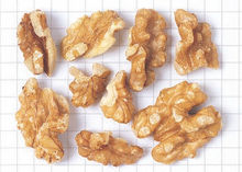 California Walnut -- Light Halves and Pieces 80%