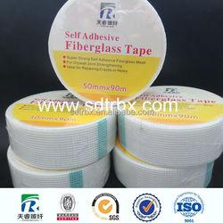 C-glass Fiber Glass Mesh Tape Factory supply 50mm*45m 50mm*90m prevent crack trade assurance