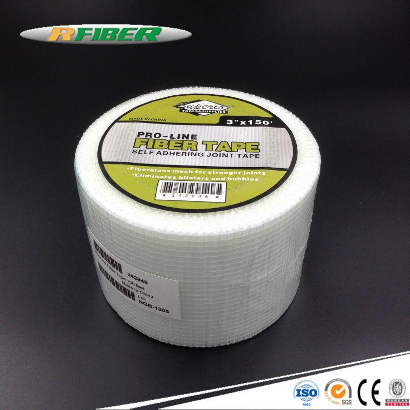 Fiberglass Mesh Tape : Adhesive fiberglass mesh tape