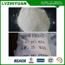 sodium formate uses for leather,printing & dyeing industry