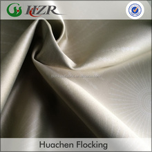 Transfer Printing Faux Silk Fabric PA Coated Blackout Curtain Fabric