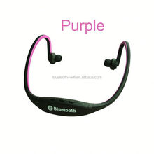 2014 Newest stylish wireless aptX stereo 4.0 bluetooth headset sport with dual mic