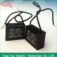 high-tech TOFO hot sale Polypropylene film CBB61 capacitors 1uf 400v