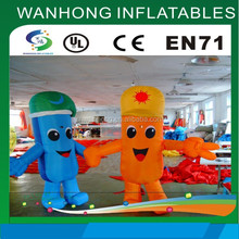 Newest design cheap inflatable cartoon inflatable model for sale