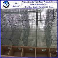 wire breeding galvanized mink cages (professional factory)