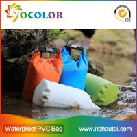 2015 Fashion & Colorful 100% Waterproof Backpack Dry Bag for Outdoor Water Sports