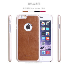 Original X-Level Skin Series Genuine Leather Case PC Back Cover For Iphone 6 Plus 5.5 MT-3766