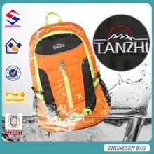 New style Manufacturers selling handy roomy 25L school backpack/ durable quick access travelling daypack backpack