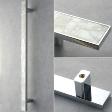 Real seashell aluminium door pull handle---HOT