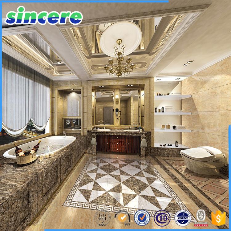 3d carreaux de plancher carrelage salle de bains 3d for Carrelage salle de bain 3d