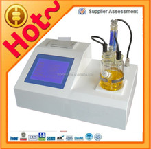 Lubricating oil water content analysis instrument model TP-2100, adopt Karl Fischer method, LCD English display, print report