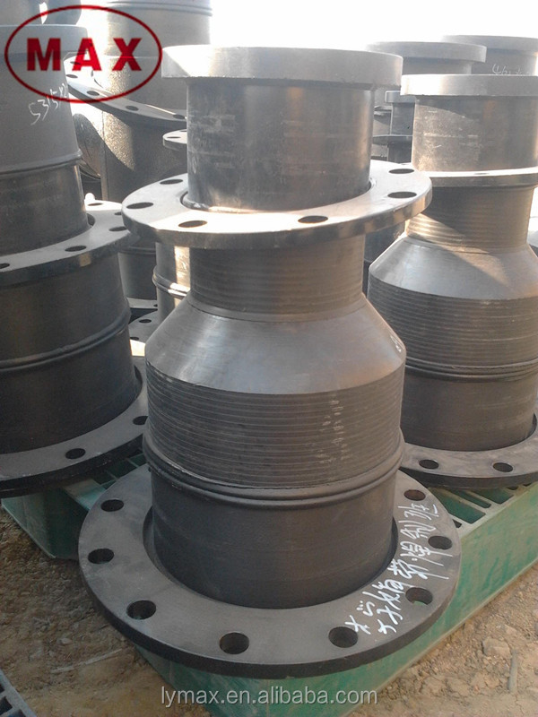 Iso standard hdpe stub end flange pipe