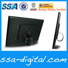 18.5 inch advertising media player Digital photo Frame factory