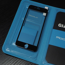 New Product 0.33mm 3D Black Full Cover Cell Phone Screen Protectors For Iphone 6plus 5.5inch With Packaging
