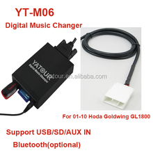High quality car audio system for honda city and car digital music changer in wholesale
