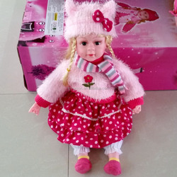 MAGJN-141 small plastic newborn baby dolls / crying laughing stuffed doll baby