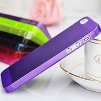 Wholesale cheap original covered like unbreakable ultrathin custom plastic case for Iphone 4S 5S mobile phone