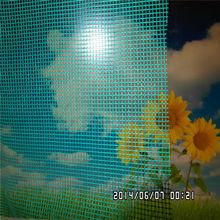 Green Fiberglass window screen on sales