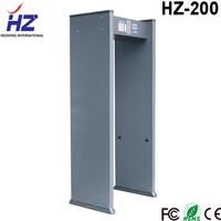 Especially customized for Middle east country cheap security protecting walk through door detector HZ-200 prevent weapon