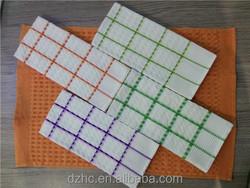 high quality ventilate waffle woven organic cotton tea towels
