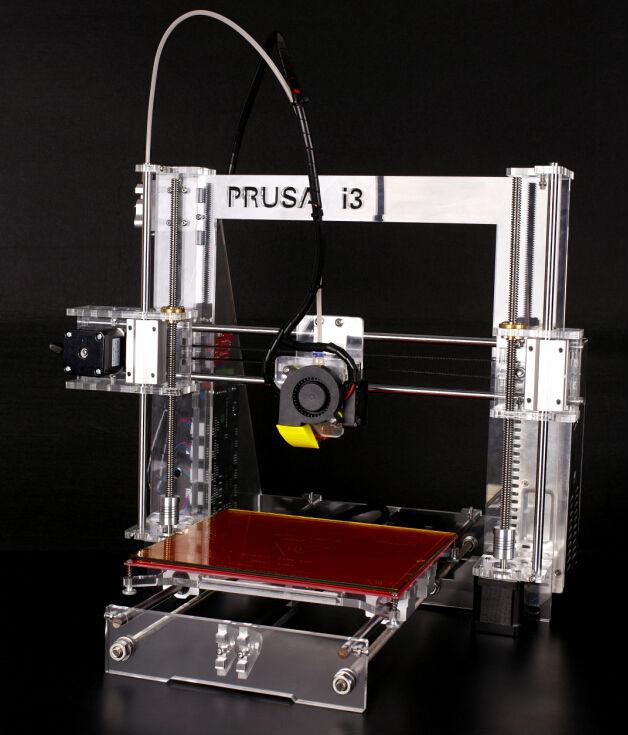 Kit stampante 3d prusa i3 italia completo da assemblare reprap consegna 24h new ebay - 3d printer italia ...