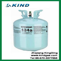 13.6kg/30lbs disposable cylinder best price r134a refrigerant gas